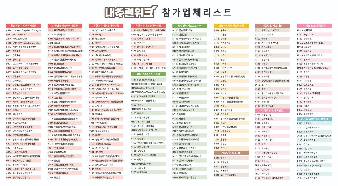 내추럴위크 참가업체 리스트.jpg